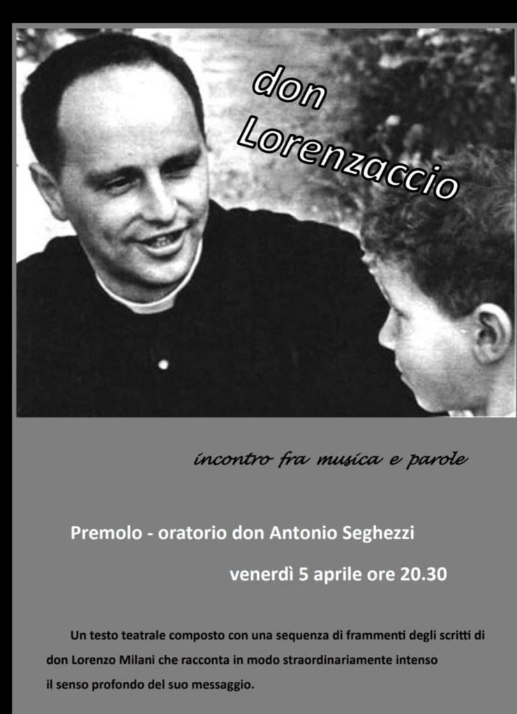 serata meditativa sulla figura di don Lorenzo Milani